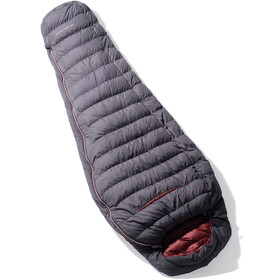Yeti Shadow 500 Sleeping Bag L, ash coal/garnet